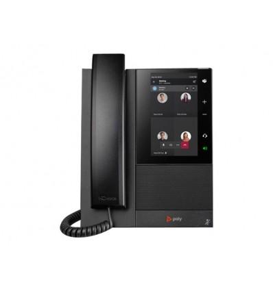 CCX500 Media Phone, MS Teams, no handset, POE